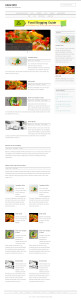 GigaFood: WordPress Theme