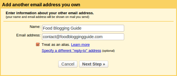 Gmail-Domain-Address