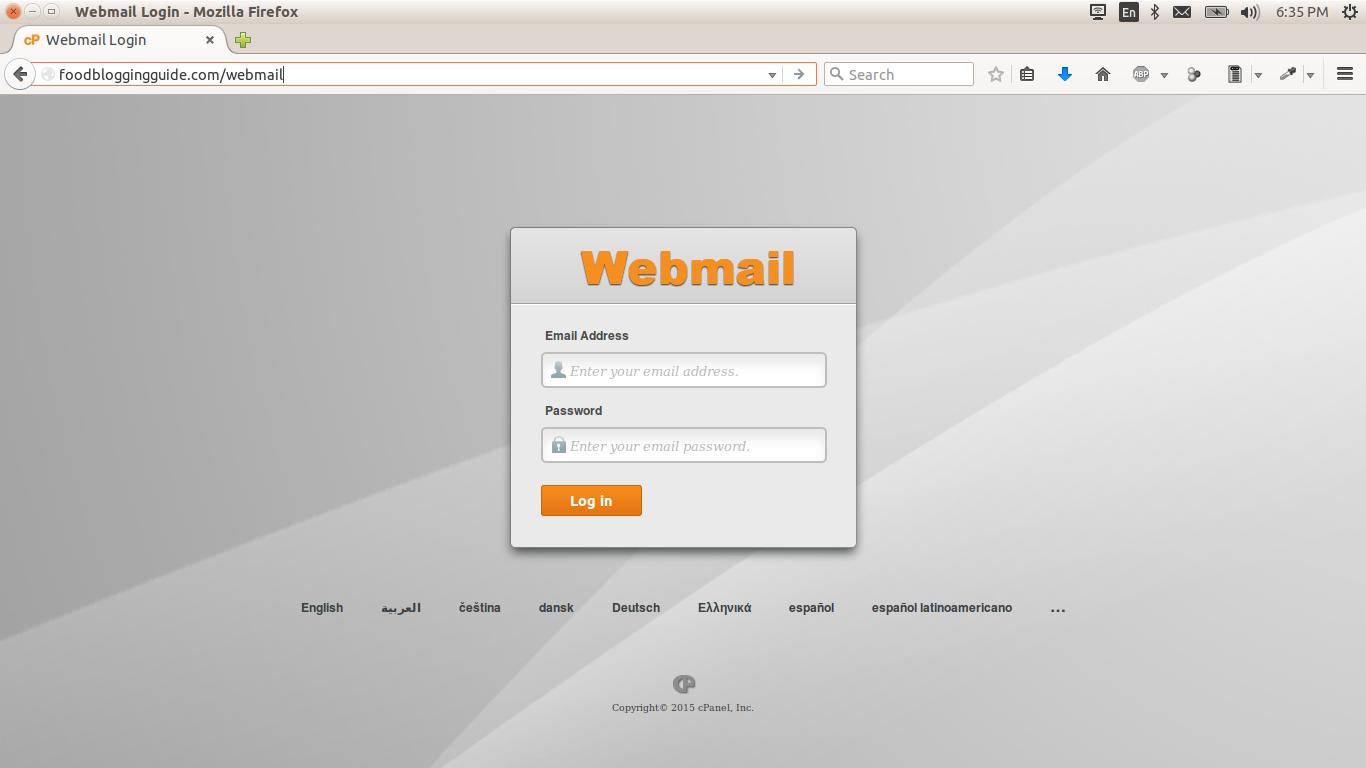 Webmail-cPanel-Hostgator