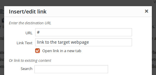 Hyperlink-Backlink-Post